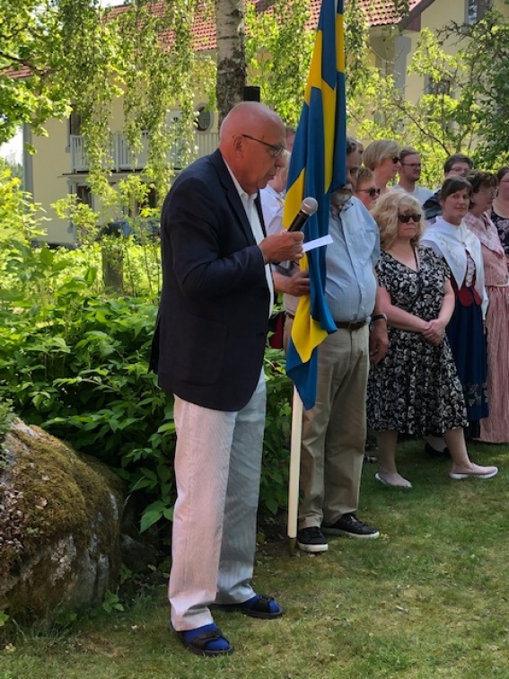 Nationaldagen 6 juni vid Kungsholm